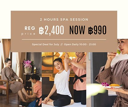 30% OFF Selected Spa Package + Facial