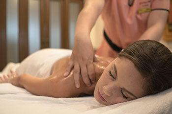 Lemongrass benefits as an ingredient for massage oil.