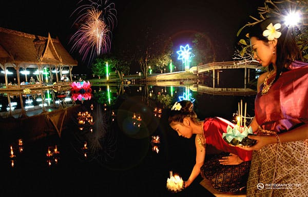 Celebrating The Loy Krathong & Yi Peng Lantern Festival In Chiang Mai