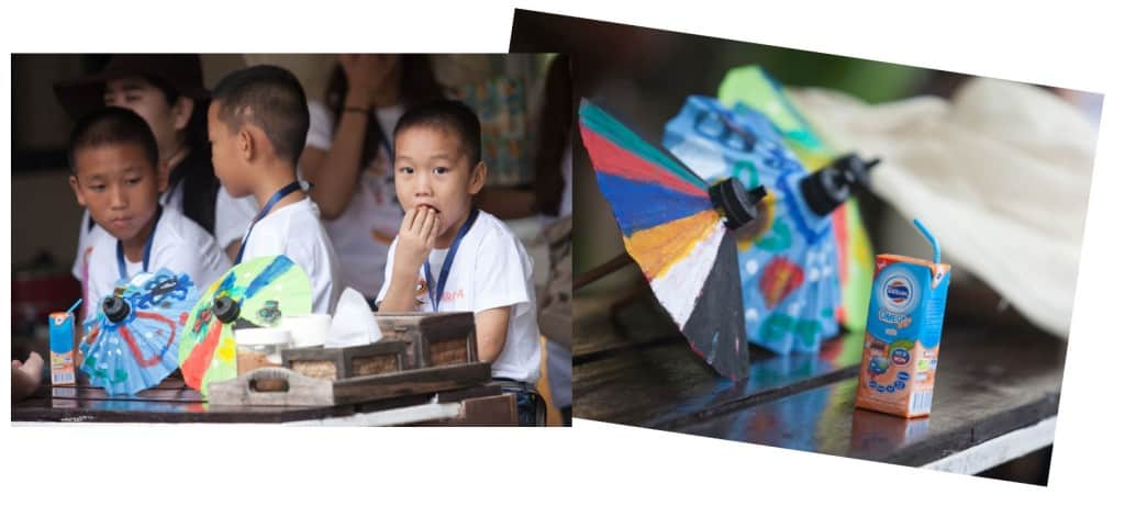 Umbrella-related activities in Chiang Mai.